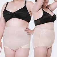 Wholesale Shape Corset Underwear - Wholesale- Women Corset Fitness Shaping Underwear Cotton Abdomen Plus Size Body Shaper