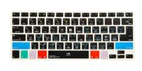 Wholesale Keyboard Skin Imac - Wholesale-For A1278 Logic Pro X Shortcut Keyboard Screen Skin Cover For iPhone iMac ,Macbook Pro Air 13 15 KC_A1278_TY_LogicProX