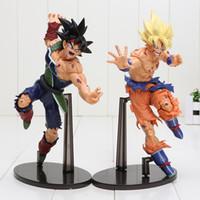 Wholesale Bardock Figure - Dragon Ball Z Resurrection Of F 22CM Dragonball Z Styling God Super Saiyan Son Goku Bardock Figure