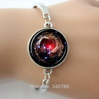 Wholesale Universe Ring - Nebula Helix Bracelet jewelry Galaxy bangles Helix Nebula constellation Aquarius universe Style for Women bracelet bangles