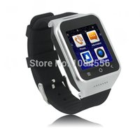 Wholesale Watch Phone Wifi Dual - Wearable Devices Smart Watches ZGPAX S8 Smartphone Smart Watch Phone Android 4.4 MTK6572 Dual Core 1.5 Inch WIFI GPS 2.0MP Camera 3G