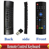 Wholesale-2.4G Wireless Remote Control Keyboard Air Mouse für Android TV Box XBMC Smart TV IPTV Networked Set-top Box Mini-PC-Controller