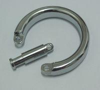 cage de chasteté gratuite achat en gros de-Livraison gratuite anneau de chasteté pour métal accessoire de produit de sexe fétiche de chasteté en métal pour hommes, sexe iteam