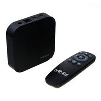 Wholesale Mini X5 Android - MINIX NEO X5 MINI Android 4.4 Smart TV Box RK3066 Mini PC Dual Core 1.6GHz 1G RAM 8G ROM WiFi USB RJ45 HDMI BT XMC Media Player Set Top Box