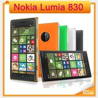 Wholesale orange cell phone wifi resale online - Nokia Lumia Original Unlocked quot GB Quad Core GHz MP Windows GPS WIFI G Unlocked refurbishe cell Phones
