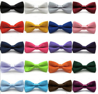 Bow Tie black bowties - High quality Fashion Man and Women printing Bow Ties Neckwear children bowties Wedding Bow Tie