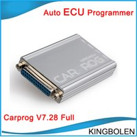 Wholesale Ecu Immobilizer - 2017 New Arrival Carprog V7.28 Auto repair tool for radios,odometers,dash,Immobilizers Car prog main unit DHL Free Shipping