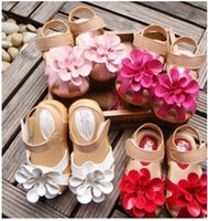Wholesale Shoes Child Sandals Fashion Princess - 2016 new summer children girl Sandal princess Flower fashion kids Sandal shoes