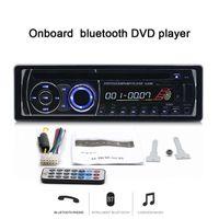 video dash car оптовых-Новый 12 В Bluetooth автомобильный DVD-плеер стерео FM-радио MP3-плеер автомобильный радиоприемник в тире один DIN DVD CD-плеер автомобиля Радио 8169A