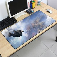 Wholesale Cartoon Rubber Mouse Pad - PUBG grande 90*40cm one piece mouse steam gaming mouse pad large cartoon Anime rubber mouse pad Keyboard Mat Table Mat For Dota 2 CS Go