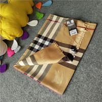 Wholesale Autumn Cashmere Sale - Hot sale 180x70cm Luxury Brand Scarf Women Autumn Cashmere Scarf Winter lattice designer scarf Shawl Ladies Warm Scarves
