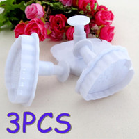 Cutter special cookie cutters - Special low set Heart Cake Fondant Decorating Mold Cutter Cookies Sugarcraft Plunger Mould