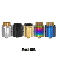 Wholesale metal standards - 100% Original Vandy Vape Mesh RDA Atomizer Vandyvape Invisible Clamp Style Postless Deck Tank Compatible With Mesh Wire Standard Coils