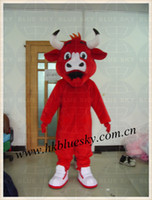 Wholesale bull costumes - 2014 high quality benny the bull mascot costume benny the bull costume bull costume for adults