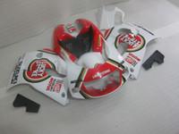 Wholesale Lucky Strike 96 Gsxr - ABS full fairing kit for SUZUKI GSXR600 GSXR750 1996 1997 1998 1999 2000 GSXR 600 750 96-00 white red LUCKY STRIKE fairings GB7