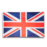 Wholesale british decorations - UK British Flags 90*150cm For 2018 FIFA Russia World Cup Party Decoration 3*5ft United Kingdom National Banner 5qt C RZ