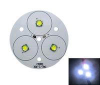 led para pcb board blanco al por mayor-Serie 3 Cree XM-L XML / XM-L2 XML2 blanco 6500k 30W con placa PCB de 50MM 9-11V 2-3A luz led