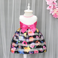 Wholesale Chinese Children Garments - Kids Dresses Party Birthday New Year Eve Colourful Gowns Wedding Children Clothes Winter Mother Daughter Garments Wholesale
