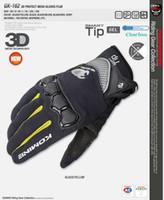 добрые перчатки оптовых-2015 лето новый KOMINE GK162 3D сетки технологии езда перчатки мотоцикл / мотоцикл / Мото гонки перчатки имеют 4 вида цвета размер M L XL