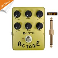 Wholesale Pedals Vintage - Joyo JF-13 AC Tone Vintage Tube Amplifier effects pedal, analog circuit and bypass MU0013