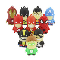 usb flash drive Superhero Avenger / Superman / Batman / Daredev / Spider Man 2.0 Pendrive 4GB 8GB 16GB 32GB Pendrive Memory Stick U Disk