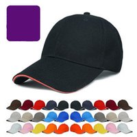Wholesale Hq Shipping - HQ DIY Logo and Graph Cotton blank Solid color Advertisement cap duck tongue hat DIY baseball cap For Free Shipping
