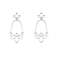 Wholesale Halloween Thailand - GORGEOUS TALE Flower Drop Earrings Female High Quality Handmade Thailand Crafts for Wedding Party Daily Gift Fashion Jewelry