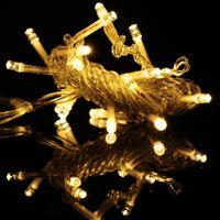 luz de la decoración directa de fábrica al por mayor-Nueva Moda Romántica 10 m 100 LED Luces de Tira Impermeable Año Nuevo Decoración Del Partido Decoraciones de Navidad Precio de Fábrica Directo