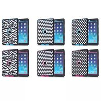 Wholesale Ipad Mini Case Zebra - Zebra Dots Waves Shockproof Dirt Resistance For Cover Apple iPad Air 2nd Gen 6 Case