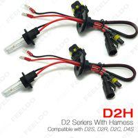Wholesale Xenon Light Bulbs 35w - FEELDO 2Pices lot 35W D2H HID Xenon Light Bulbs Compatible with D2S D2R D2C D4S for Retrofit #4489