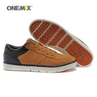 Wholesale Body Trends - Onemix Man Winter Skateboard Shoes For Men Cow Leather Flats Sneakers Fashion Classic Trends Superstar Shoe Tennis Outdoor Walking Footwear