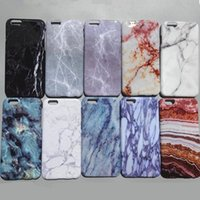 Custodia completa per PC 3D Marble Marble per iPhone 7 6 6S Plus 6plus 7p 6p Custodie più cool