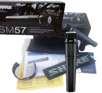 Wholesale Professional Vocal Microphone - Wholesale-Free shipping 2015 New design mic SM57 SM57LC Cardioid vocal microphone Wired microphones Handheld Microphone, Professional Mic