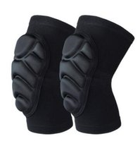 Wholesale Adults Ice Skates - 1 Pair Lot Skating Protective Gear Skidding Elbow Pad Bicycle Skateboard Ice Skating Roller Knee Protector For Adult Kids Gift