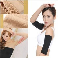 Wholesale Fat Loss Men - Wholesale- Women Weight Loss Arm Shaper Fat Buster Off Cellulite Slimming Wrap Belt Band