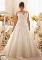 Wholesale Cake Sizes Chart - Sell like hot cakes Vestido De Noiva new beautiful white lace bridesmaid fishtail gown,2018 elegant sleeveless dresses