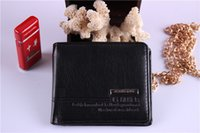 Wholesale Wallets For Men Cheap - Free Shipping Wholesale Fashion leather men's wallet Hot sale Cheap purse Wallets & Card Holders for Men,Promotion