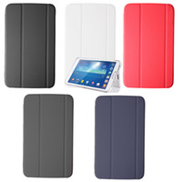 Wholesale Book Galaxy Tab - S5Q Slim Thin Leather Case BOOK Cover For Samsung Galaxy Tab 3 8.0 T310 T311 T315 AAACIU