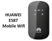 Wholesale Huawei E587 - Free shipping UNLOCKED HUAWEI E587 42Mbps 3G 4G Wireless Router 802.11b g n DC-HSPA+ Mobile WiFi Router