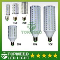luzes led iluminação milho venda por atacado-Epacket levou luz de milho E27 E14 B22 SMD5630 85-265 V 12 W 15 W 25 W 30 W 40 W 50 W 4500LM lâmpada LED 360 graus lâmpada de iluminação Led 55