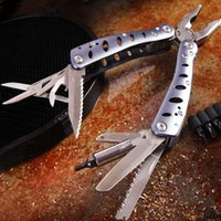 Wholesale Combination Pliers Tools - Hot ! Hardware Ganzo G101-h multifunctional tool plier Camping pocket outdoor gift