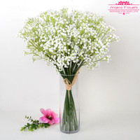 Wholesale Gypsophila Paniculata - Free Shipping Artificial 3 color High quality Silk Gypsophila paniculata Flowers For Decorate Wedding Party Bedroom mantianxing