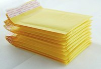 Оптовые- (150 * 180 мм) 10pcs / lots малый размер Bubble Mailers Padded Envelopes Packaging Сумки для доставки Kraft Bubble Mailing Envelope Bags