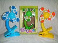Wholesale Small Clip Fan - 2015 NEW Mini Fan Battery Clip Small Fan Summer Baby Stroller Baby Bed Safty Fan Clip Fan B001