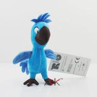 Wholesale Rio Movie - Wholesale- RIO the movie Plush Bia toys RIO 2 movie Blu Jewel 's baby toys Free shipping