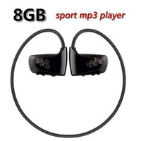 Wholesale Sport Mp3 Player W262 - Hot sale 8GB Music Player Sports MP3 Walkman for Sony W series NWZ-W262 Running mp3 player Free shipping