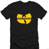 Wholesale Classic Licenses - Details about Wu-Tang Clan Classic W Logo Licensed Adult Unisex T-Shirt - Black   Yellow