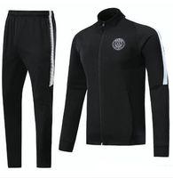 Wholesale Zipper Jr - PSG N98 soccer Jacket 2018 Survetement chandal jogging tracksuit maillot de foot neymar jr CAVANI DI MARIA jacket 17 18 top soccer tracksui