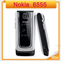 Wholesale Phone Original Size - Original Nokia 6555 unlocked single core WCDMA single sim single camera small size refurbished mobile phone