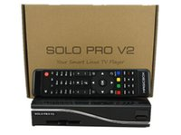 Wholesale Enigma Satellite - Wholesale-fedex free shipping Solo Pro Satellite Receiver Linux System Enigma 2 Mini VU+ Solo with CA card sharing Youtube IPTV 5pcs